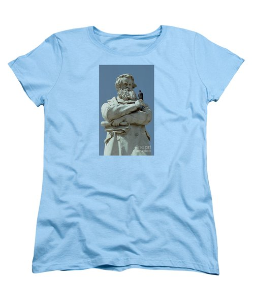 Women's T-Shirt (Standard Cut) featuring the photograph Gossip by Michael Swanson
