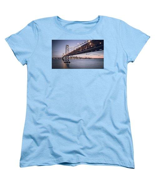 Gotham City Women's T-Shirt (Standard Cut) by Eduard Moldoveanu