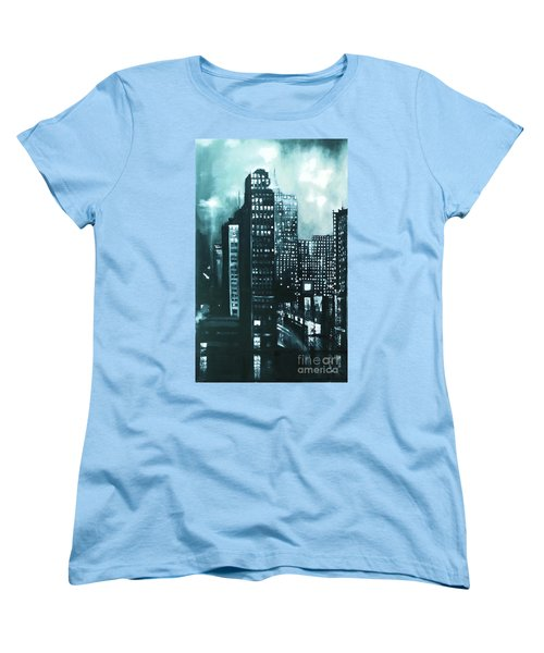 Gotham Painting Women's T-Shirt (Standard Cut)