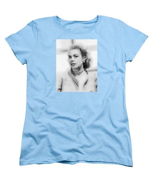 Grace Kelly By John Springfield Women's T-Shirt (Standard Cut) by John Springfield