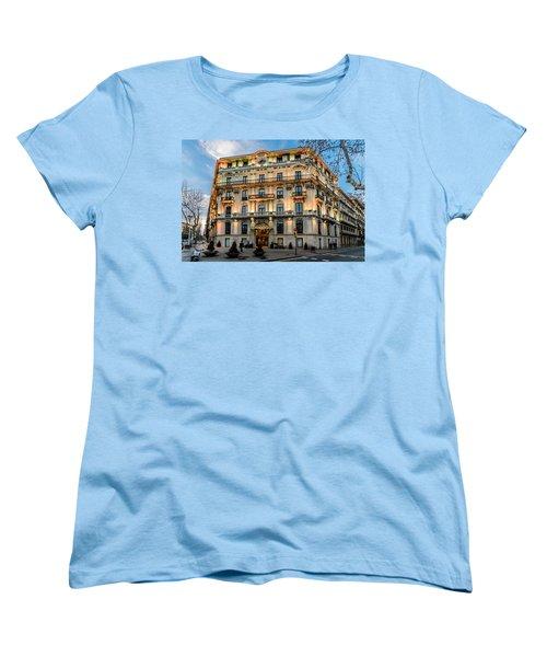 Gran Hotel Havana Women's T-Shirt (Standard Cut) by Randy Scherkenbach