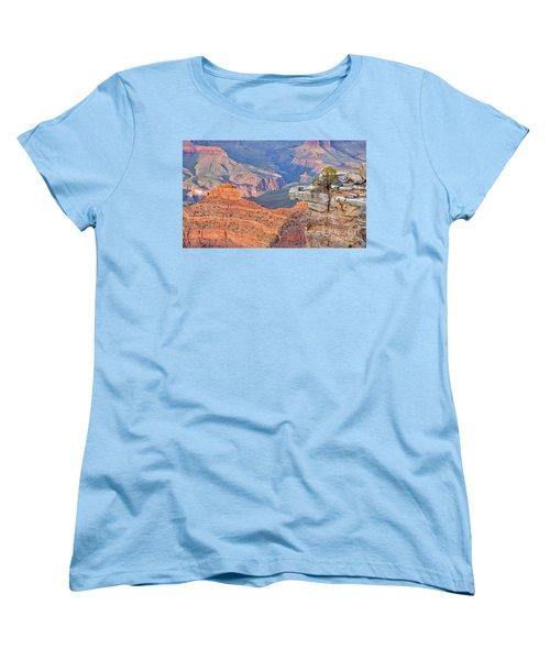 Grand Canyon 2 Women's T-Shirt (Standard Cut) by Debby Pueschel