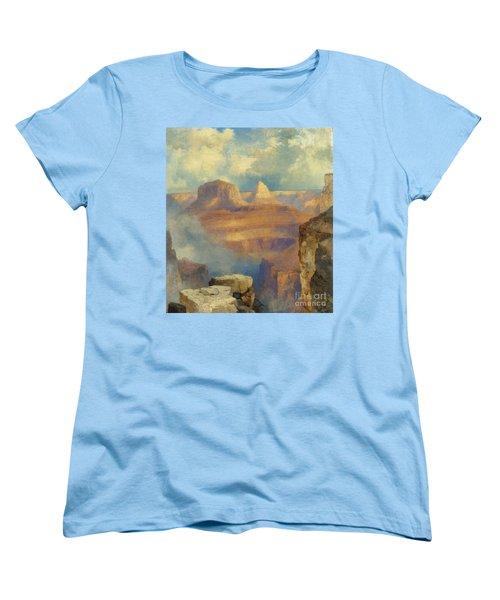 Grand Canyon Women's T-Shirt (Standard Cut) by Thomas Moran