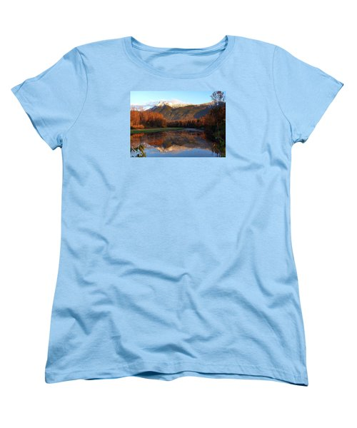 Mount Cheam, British Columbia Women's T-Shirt (Standard Cut) by Heather Vopni