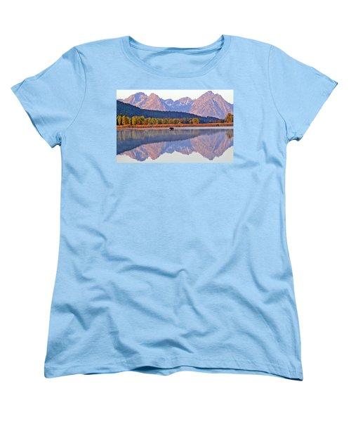 Grand Reflections Women's T-Shirt (Standard Cut) by Scott Mahon