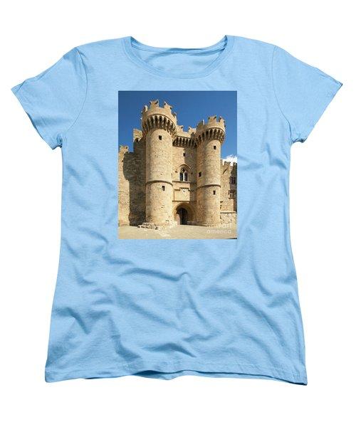 Grandmaster Palace Rhodes Island Greece 1 Women's T-Shirt (Standard Cut)