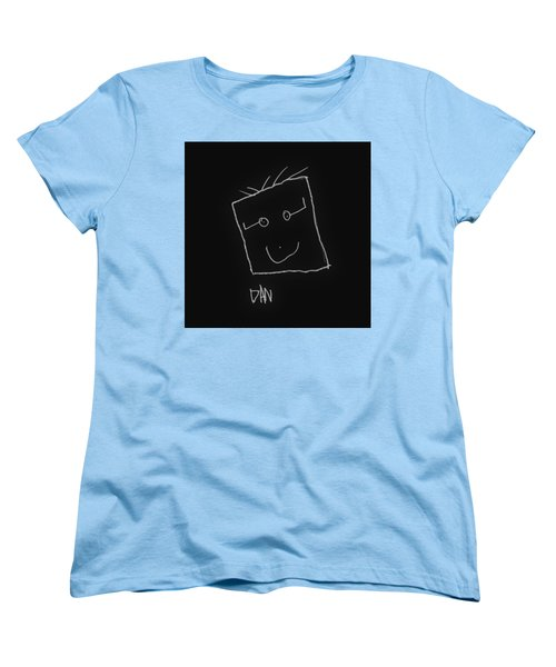 Women's T-Shirt (Standard Cut) featuring the drawing Grandpa 2 by Andrew Drozdowicz
