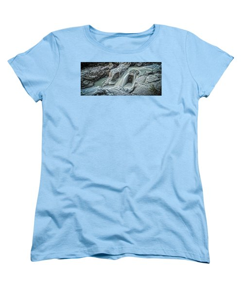 Granite Falls Blues Women's T-Shirt (Standard Cut) by Tony Locke