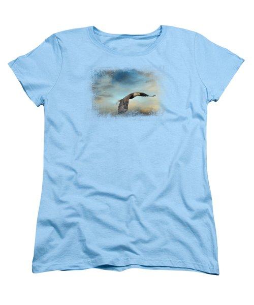 Grass Before The Storm Women's T-Shirt (Standard Cut) by Jai Johnson