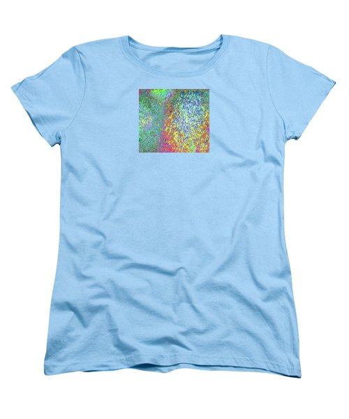 Grass On The Wall Women's T-Shirt (Standard Cut) by Expressionistart studio Priscilla Batzell