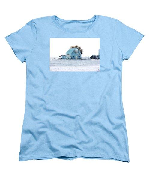 Women's T-Shirt (Standard Cut) featuring the photograph Grays by Julie Hamilton