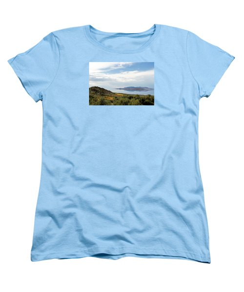 Great Salt Lake Women's T-Shirt (Standard Cut) by Menachem Ganon