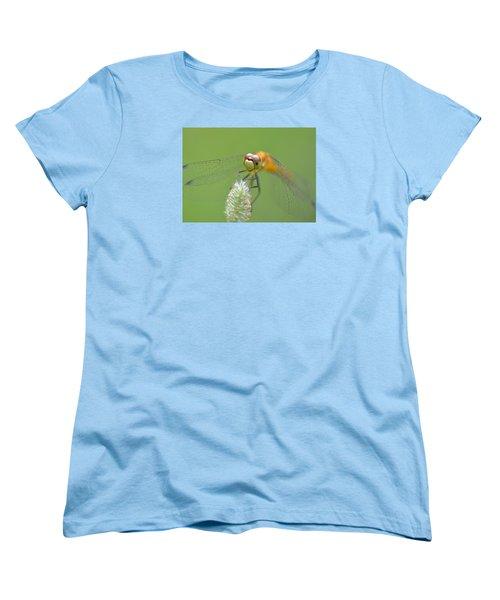Green Angles Women's T-Shirt (Standard Cut) by Janet Rockburn