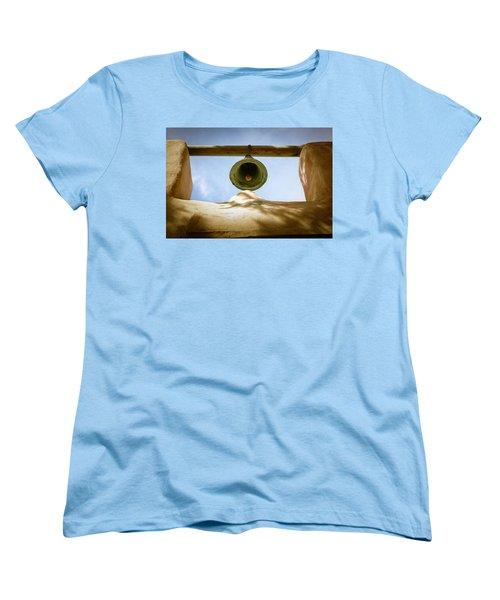 Women's T-Shirt (Standard Cut) featuring the photograph Green Church Bell by Marilyn Hunt