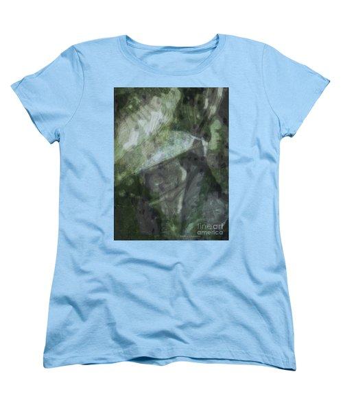 Green Mist Women's T-Shirt (Standard Cut) by Kathie Chicoine