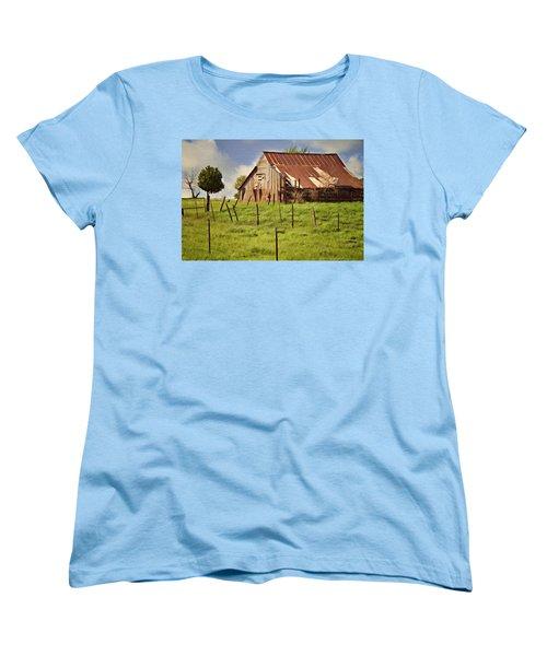Green Pastures Women's T-Shirt (Standard Cut)