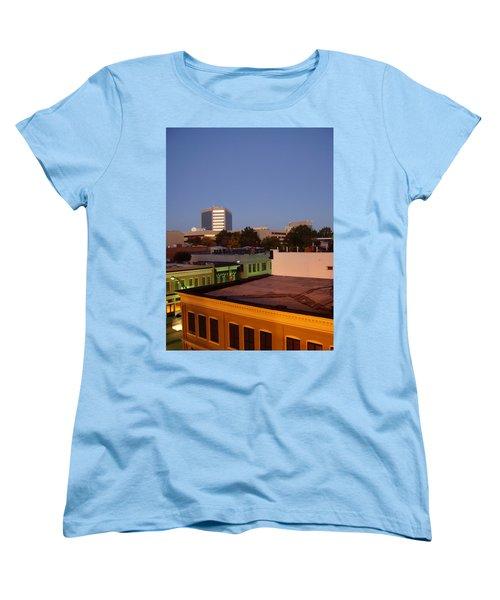 Greenville Women's T-Shirt (Standard Cut) by Flavia Westerwelle