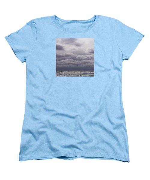 Grey Horizon Women's T-Shirt (Standard Cut) by Adria Trail