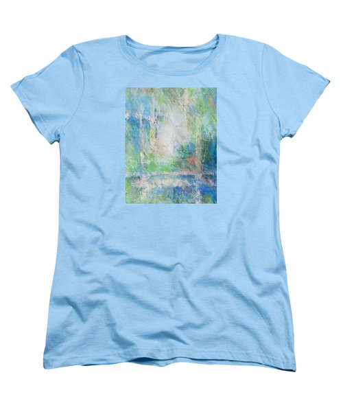 Grid Women's T-Shirt (Standard Cut) by Becky Chappell