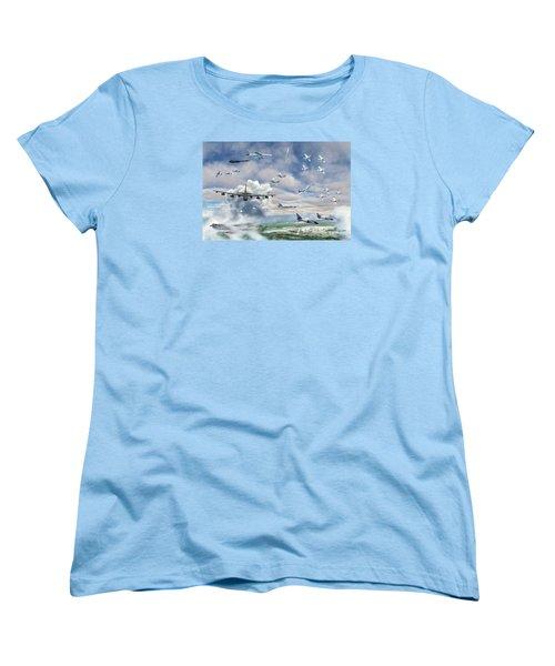 Griffiss Air Force Base Women's T-Shirt (Standard Cut) by Dave Luebbert