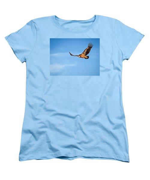 Griffon Vulture Women's T-Shirt (Standard Cut) by Meir Ezrachi