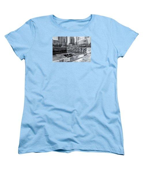 Women's T-Shirt (Standard Cut) featuring the photograph Ground Zero by Sabine Edrissi