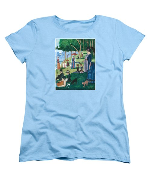 Guadalupe Visits Seuart Women's T-Shirt (Standard Cut) by James Roderick