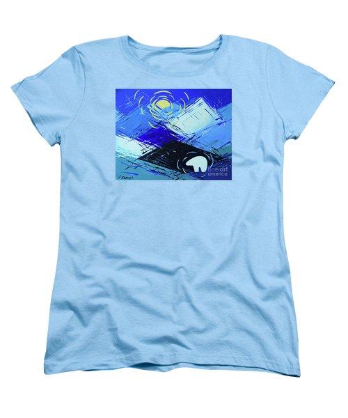Guardian Bear Winter Women's T-Shirt (Standard Cut) by Jeanette French