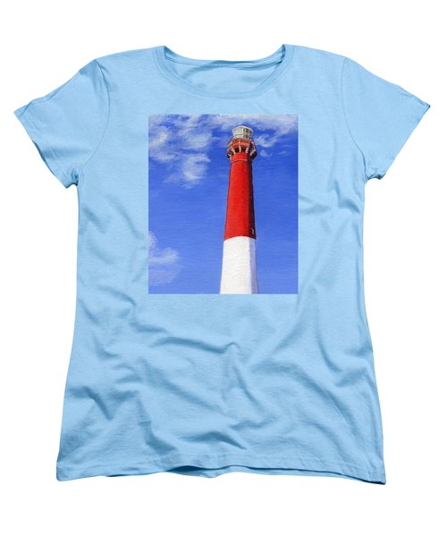 Women's T-Shirt (Standard Cut) featuring the painting Guiding Light by Lynne Reichhart