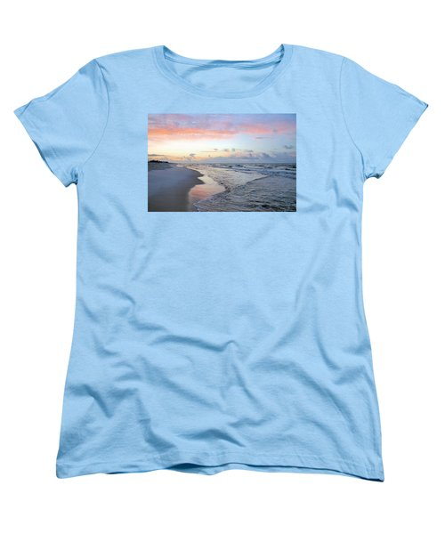 Gulf Shore Women's T-Shirt (Standard Cut) by Kristin Elmquist