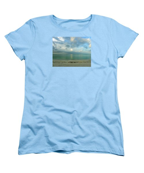 Gulf Storm Women's T-Shirt (Standard Cut) by Judy Wanamaker