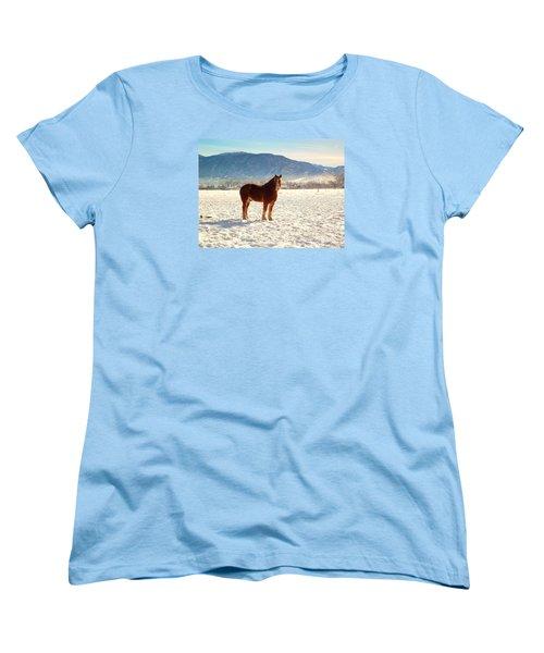 Women's T-Shirt (Standard Cut) featuring the photograph Gus by Deborah Moen