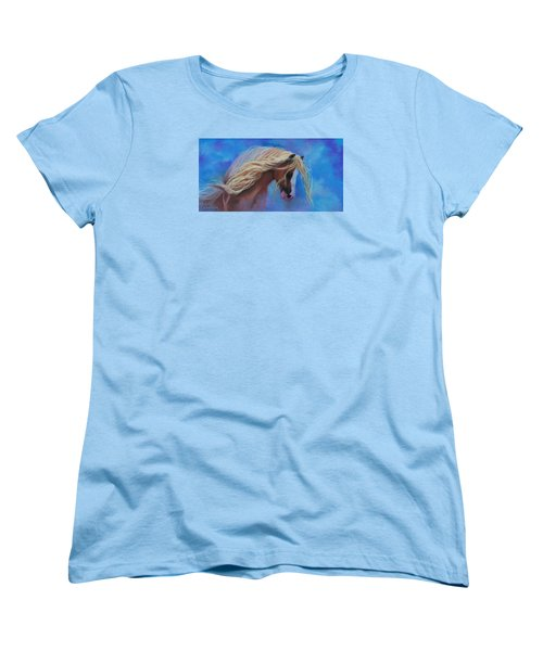 Gypsy In The Wind Women's T-Shirt (Standard Cut) by Karen Kennedy Chatham