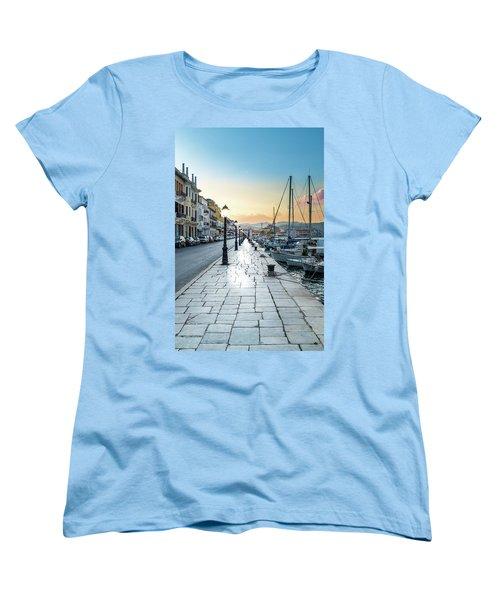 Gythion / Greece Women's T-Shirt (Standard Cut) by Stavros Argyropoulos