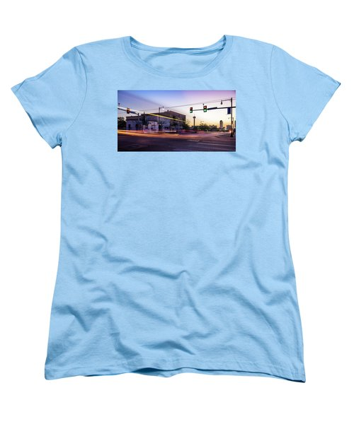 Hackberry And Commerce Women's T-Shirt (Standard Cut) by Micah Goff