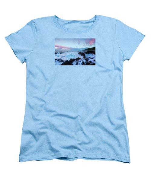 Hamakua Sunset Women's T-Shirt (Standard Cut) by Ryan Manuel