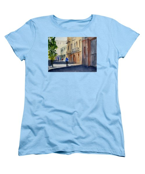 Hang Ah Alley Women's T-Shirt (Standard Cut) by Tom Simmons