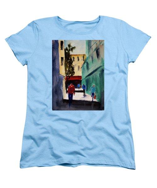Hang Ah Alley1 Women's T-Shirt (Standard Cut) by Tom Simmons