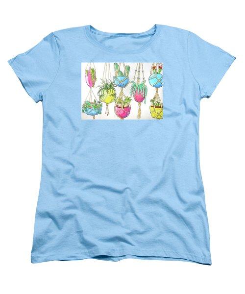 Hanging Garden Women's T-Shirt (Standard Cut) by Whitney Morton