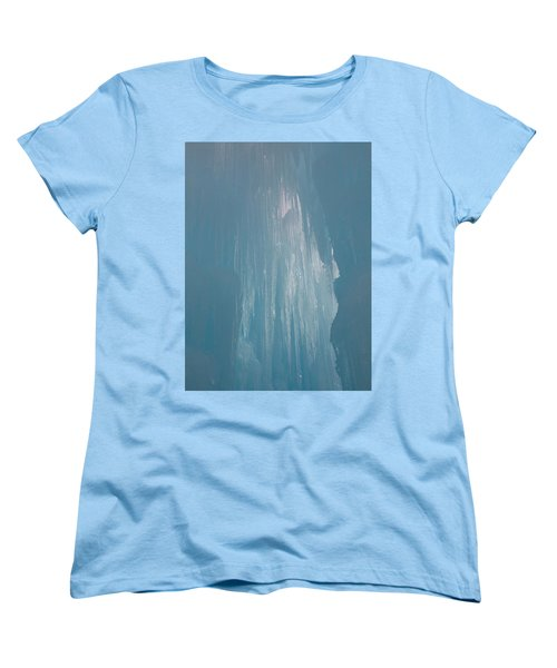 Hanging Icicles Women's T-Shirt (Standard Cut) by Catherine Gagne