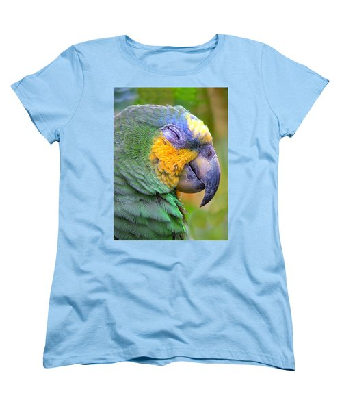 Women's T-Shirt (Standard Cut) featuring the photograph Happy 2 by Wendy McKennon
