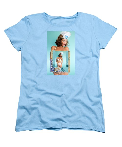 Women's T-Shirt (Standard Cut) featuring the photograph Beautiful Jewish Women by Lisa Piper