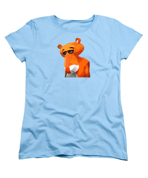 Happy Panther Women's T-Shirt (Standard Cut)