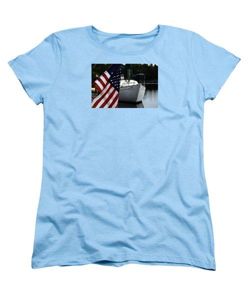 Harbor Women's T-Shirt (Standard Cut) by Allen Beilschmidt
