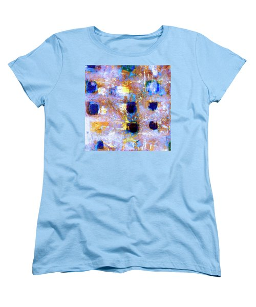 Women's T-Shirt (Standard Cut) featuring the painting Hard Eight by Dominic Piperata
