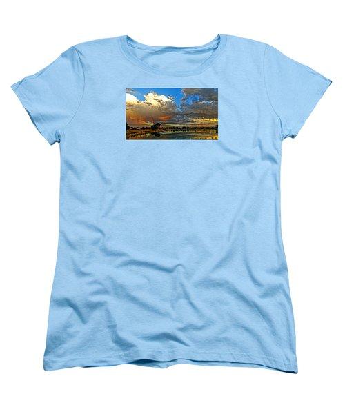 Harper Lake Women's T-Shirt (Standard Cut) by Eric Dee