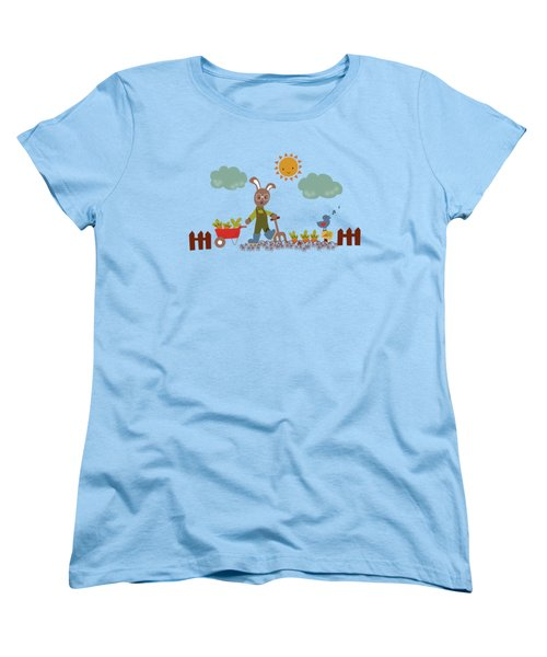 Harvest Time Women's T-Shirt (Standard Cut) by Kathrin Legg