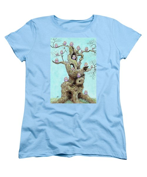 Hatchlings Women's T-Shirt (Standard Cut) by Charles Cater