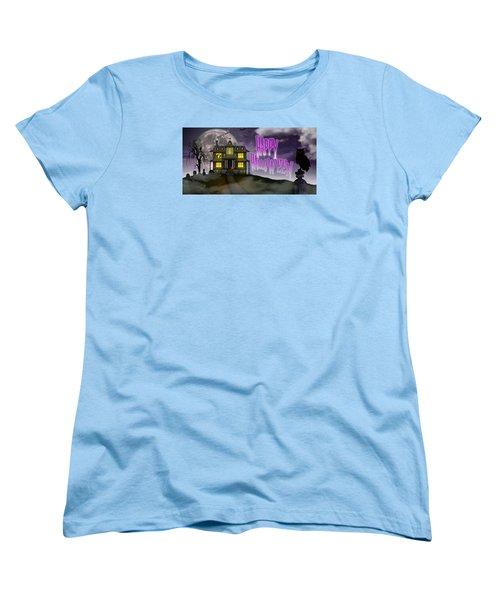 Haunted Halloween Women's T-Shirt (Standard Cut)