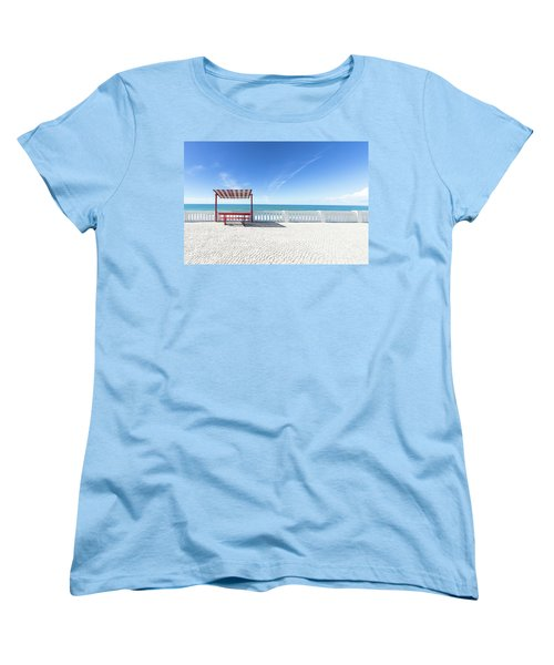 He And She Women's T-Shirt (Standard Cut) by Edgar Laureano